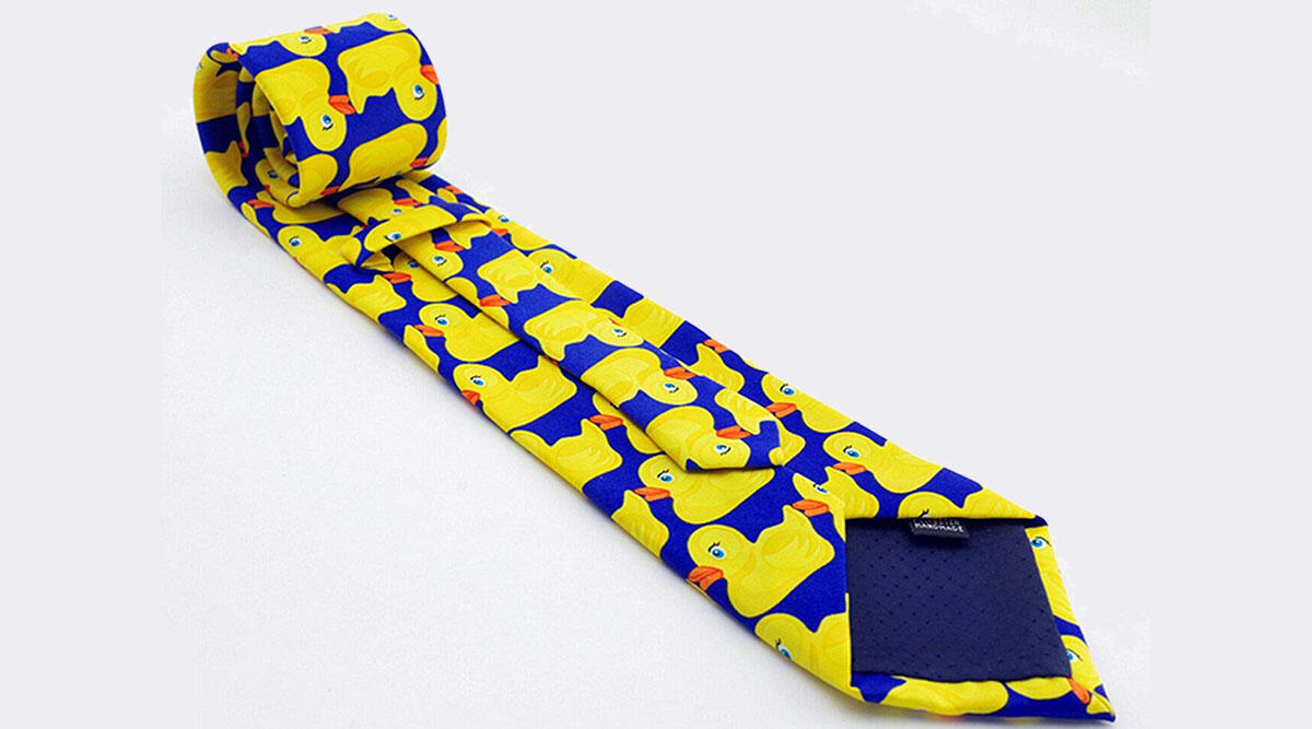 This classy necktie that'll turn you into the next Barney Stinson