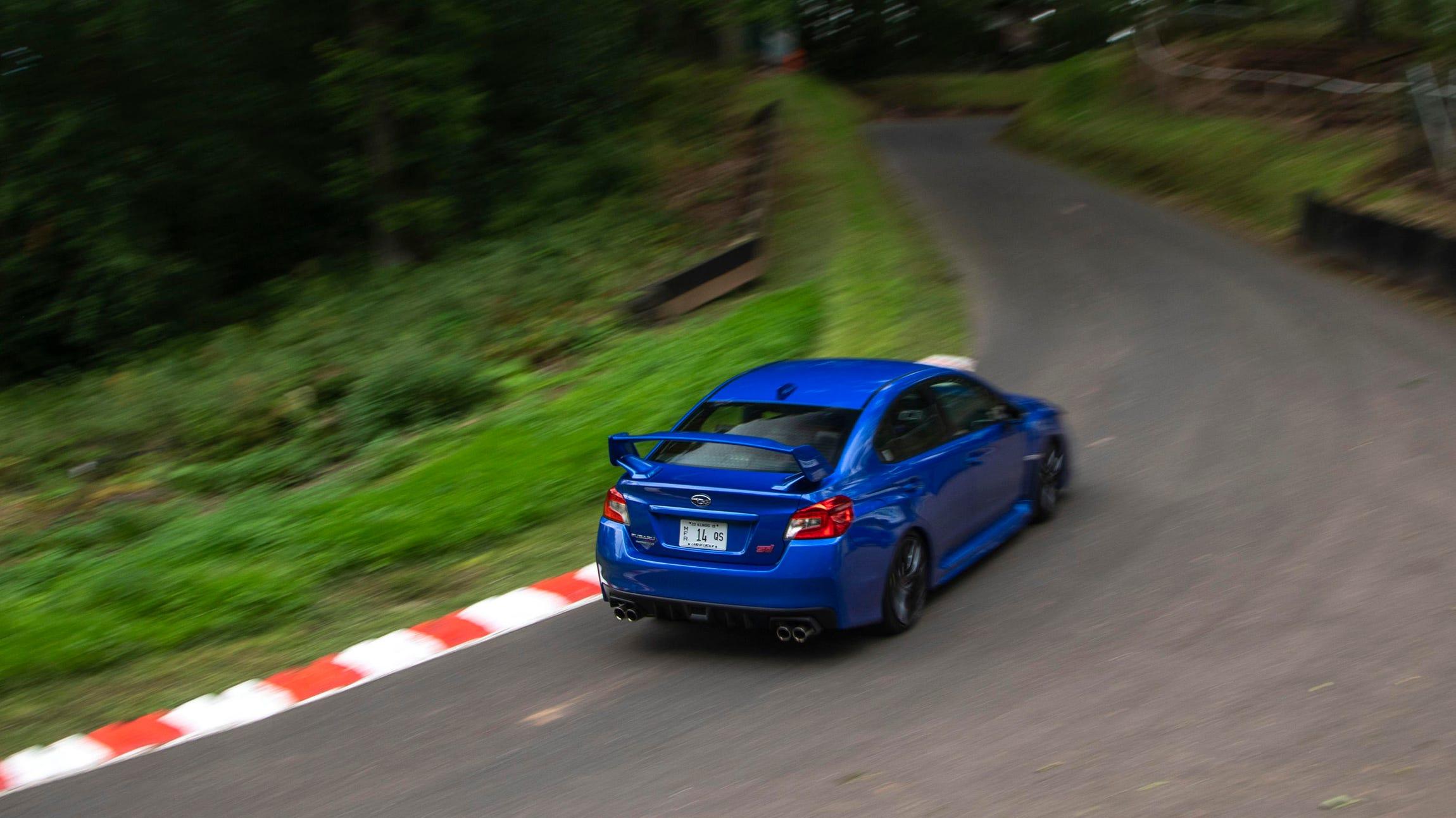 Subaru WRX STI at Shelsley Walsh