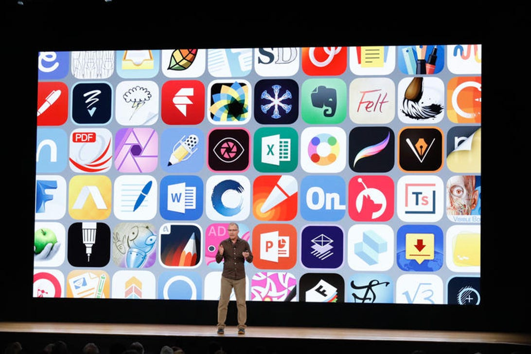 Apple is announcing new products today in Chicago.