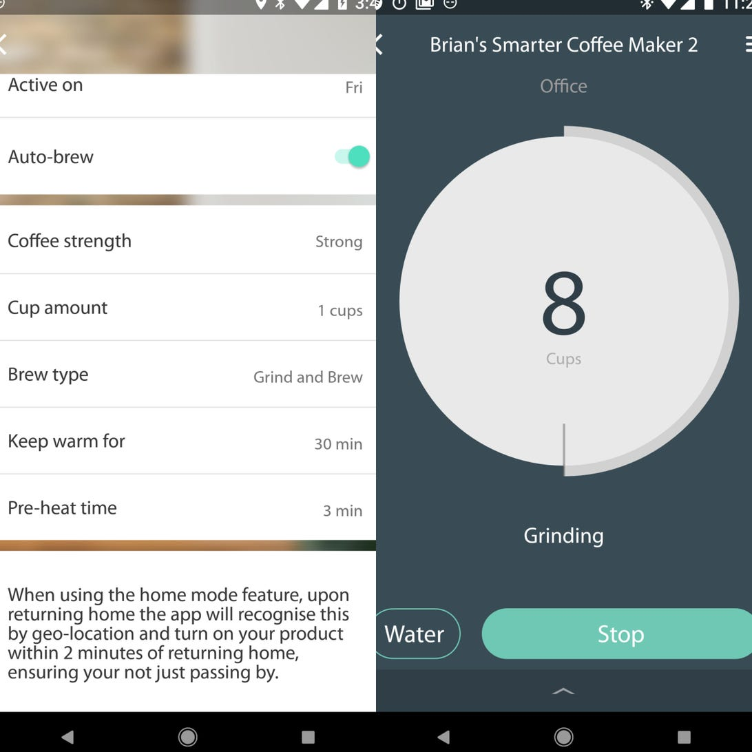 Smarter Coffee 2nd gen_app2