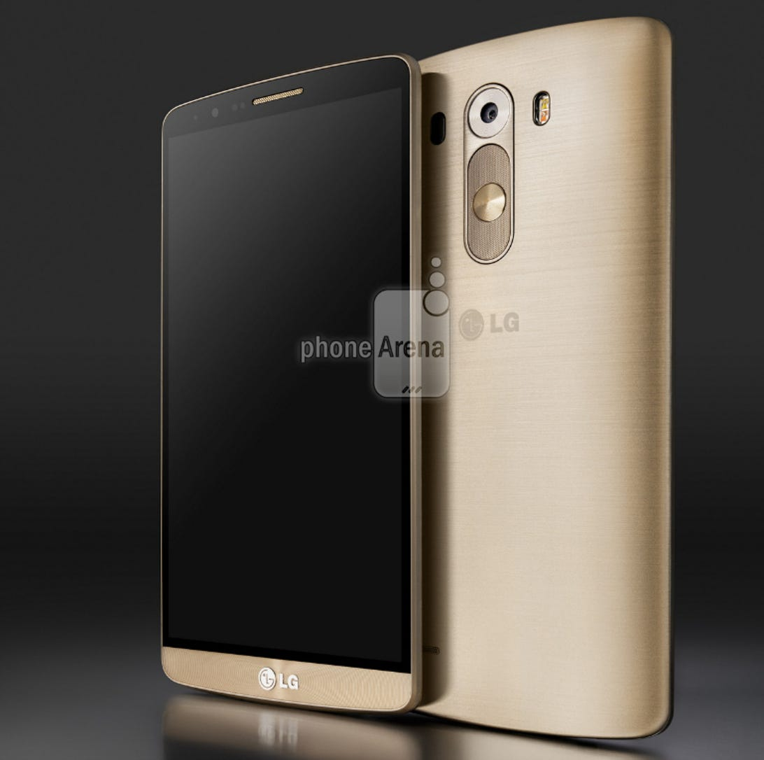 LG G3 render gold