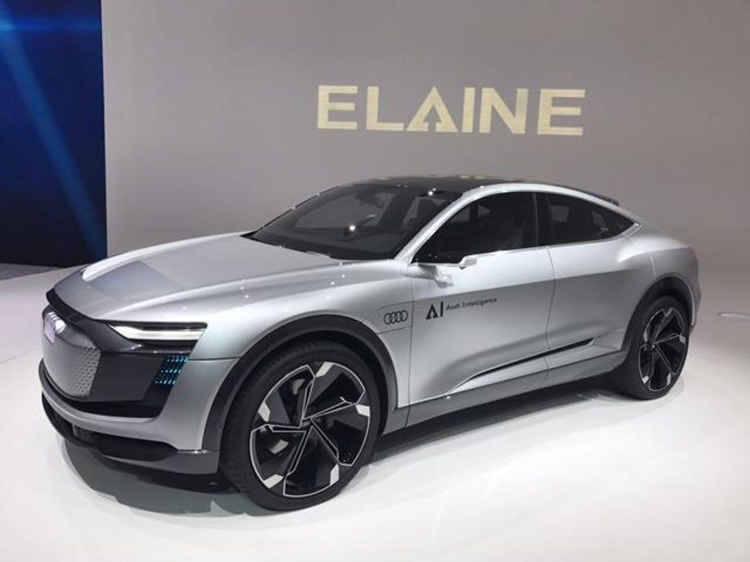 Audi Elaine Concept - 2017 Frankfurt Motor Show