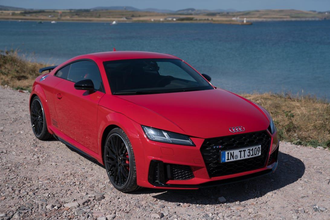 Audi TTS on the Isle of Man