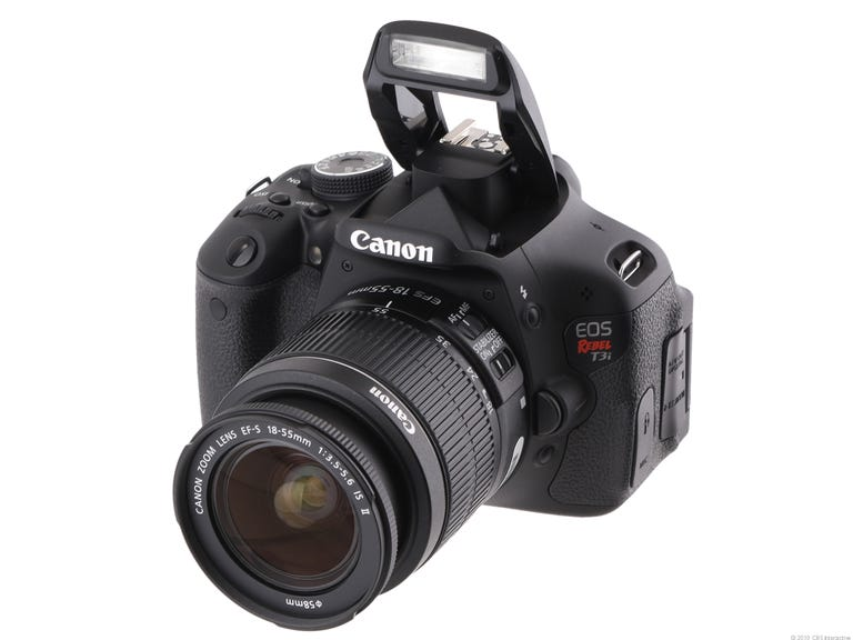 Canon EOS Rebel T3i (with 18-55mm IS II lens)