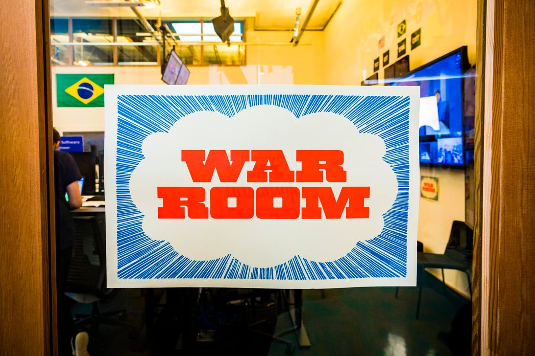 Facebook Election War Room