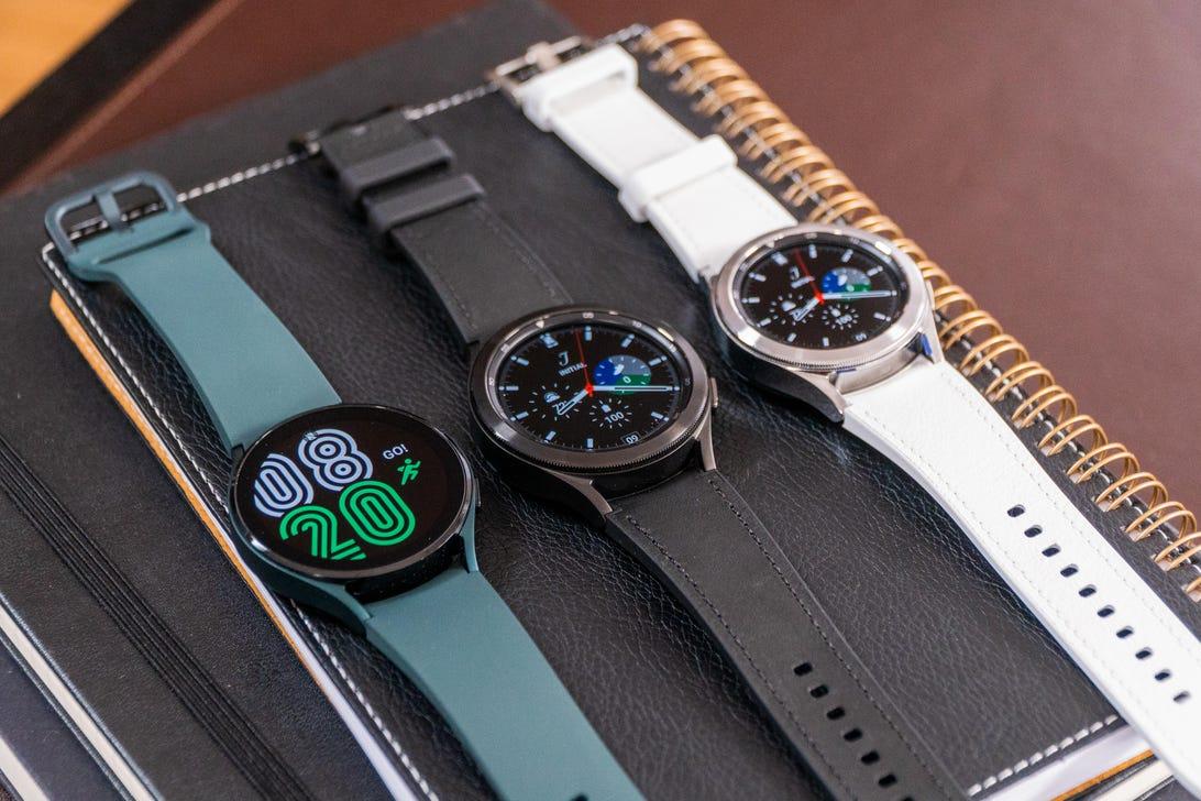 Samsung Galaxy Watch 4 and Samsung Galaxy Watch 4 Classic