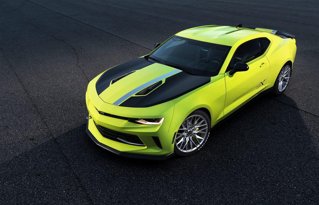 Chevrolet Camaro Turbo AutoX SEMA Concept