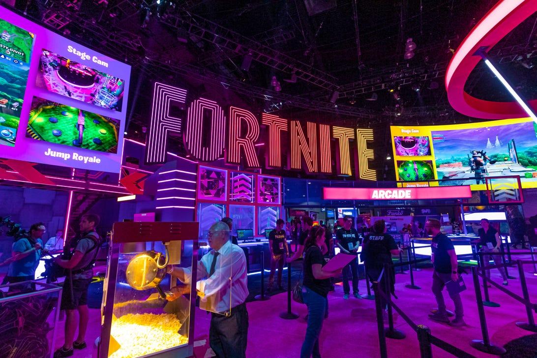 Fortnite at E3