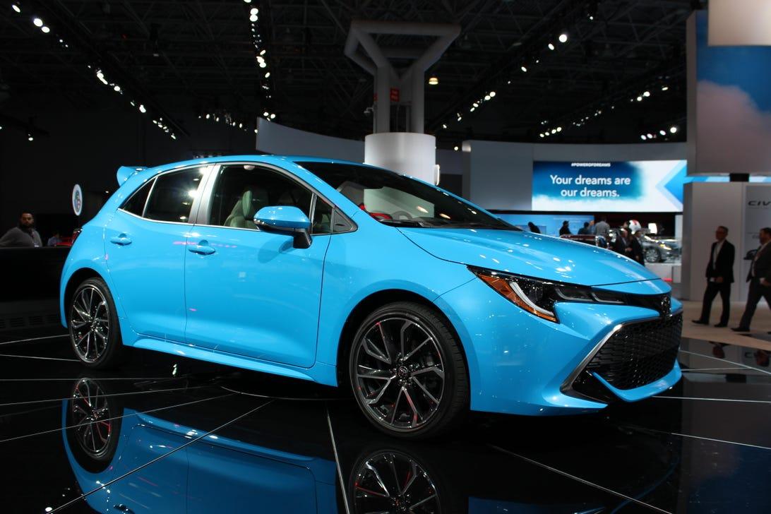 2019 Toyota Corolla Hatchback at NY Auto Show
