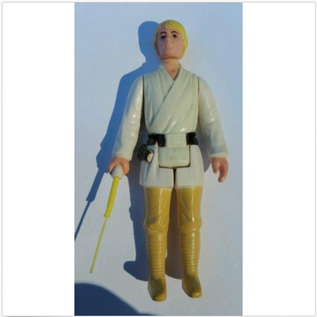 Luke Skywalker with telescoping lightsaber