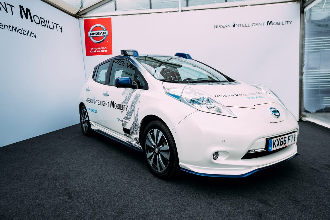 Nissan Autonomous Leaf