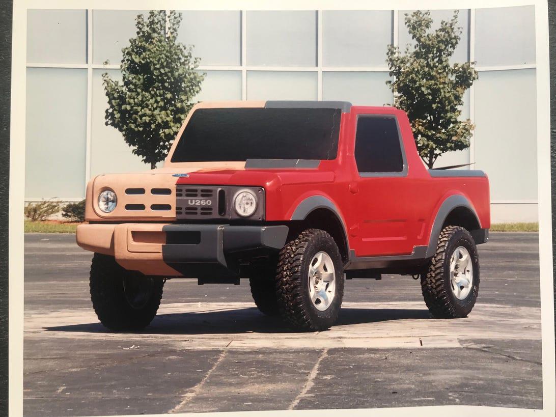 Past Ford Bronco prototype