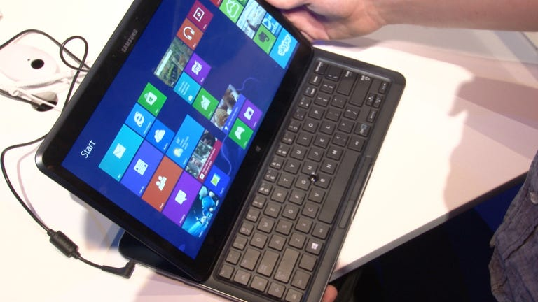 Ativ One 5 Style: A stay-at-home tablet for your desk