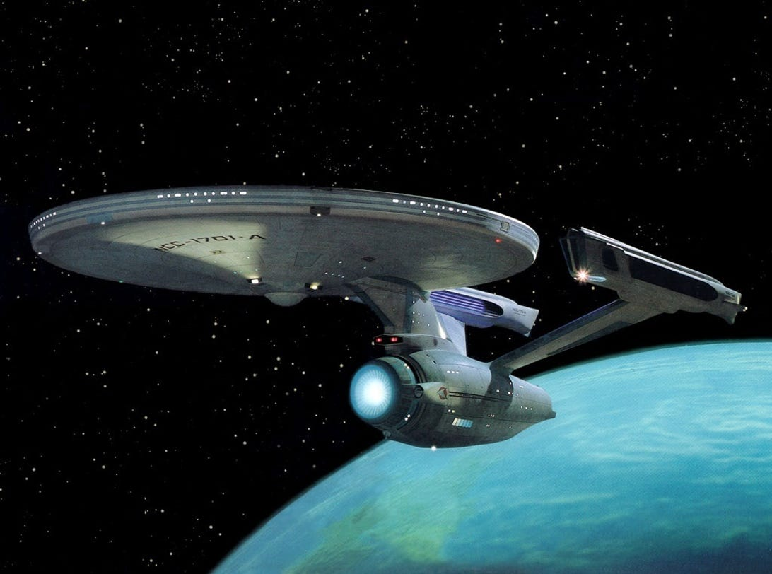Star Trek Spaceships Through The Years Pictures Cnet