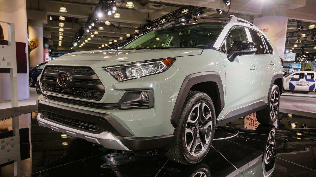 Toyota RAV4 Adventure New York Auto Show 2018