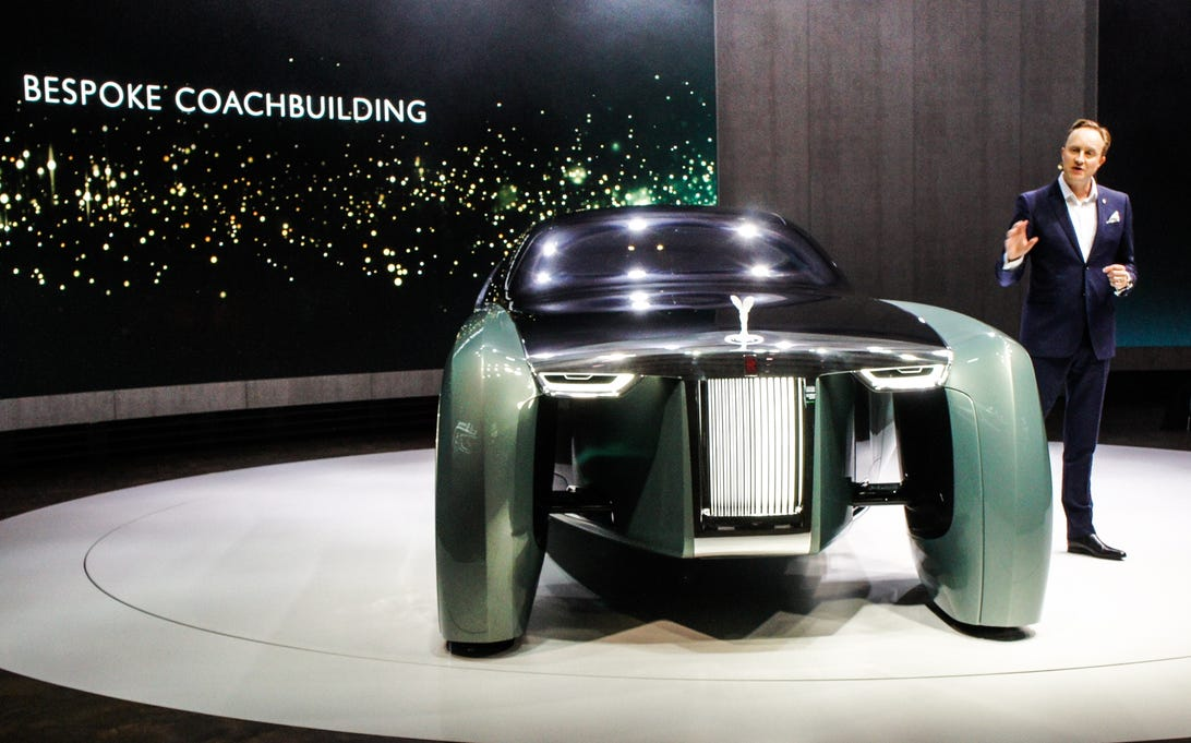 Rolls-Royce Vision 100 concept car