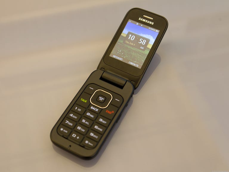 Samsung SPH-M370 - pewter gray (Sprint)