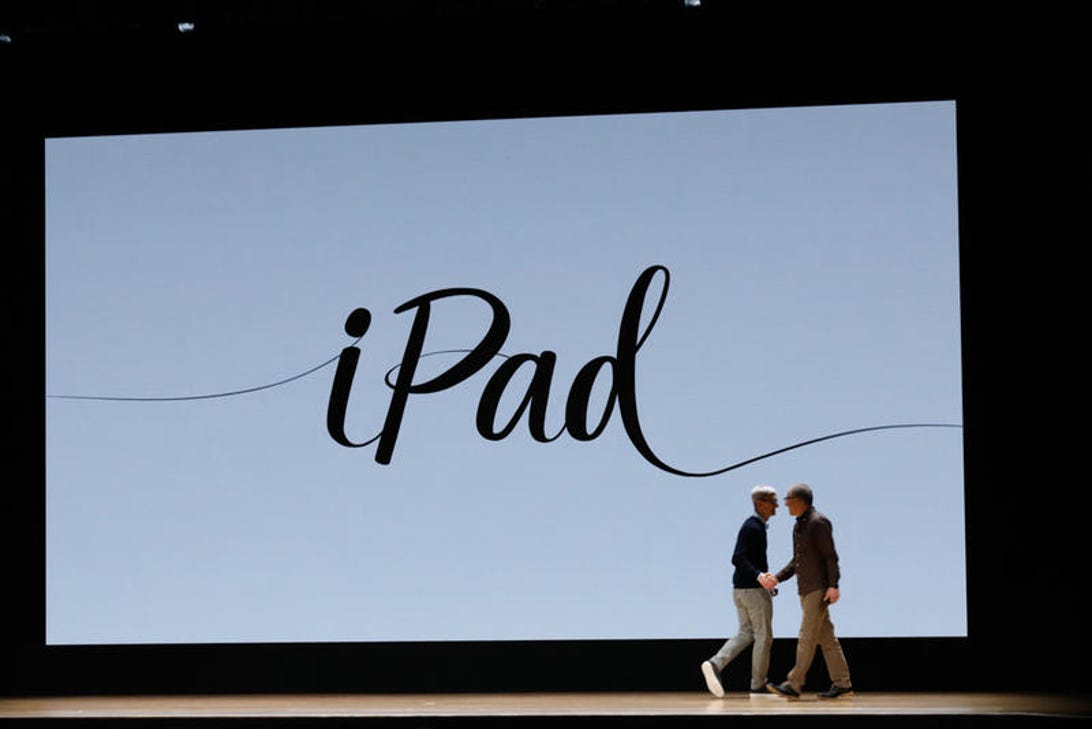 Apple announced a new iPad in Chicago