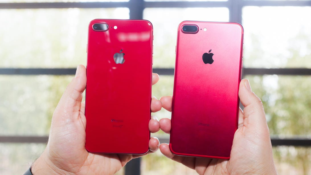 iPhone 8 and iPhone 8 Plus PRODUCT(RED) Special Edition