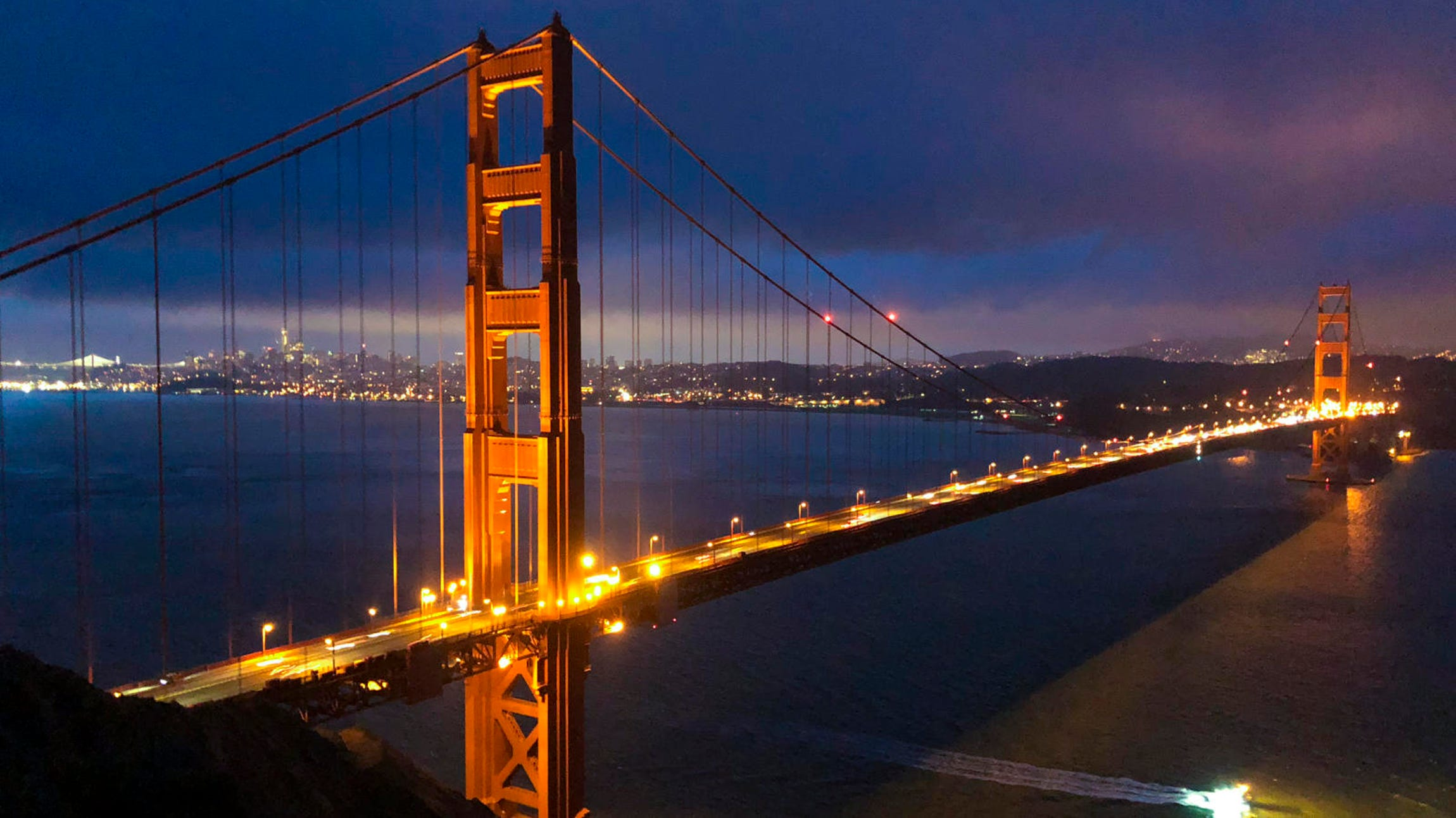 Golden Gate Bridge Shot on iPhone 8 Plus