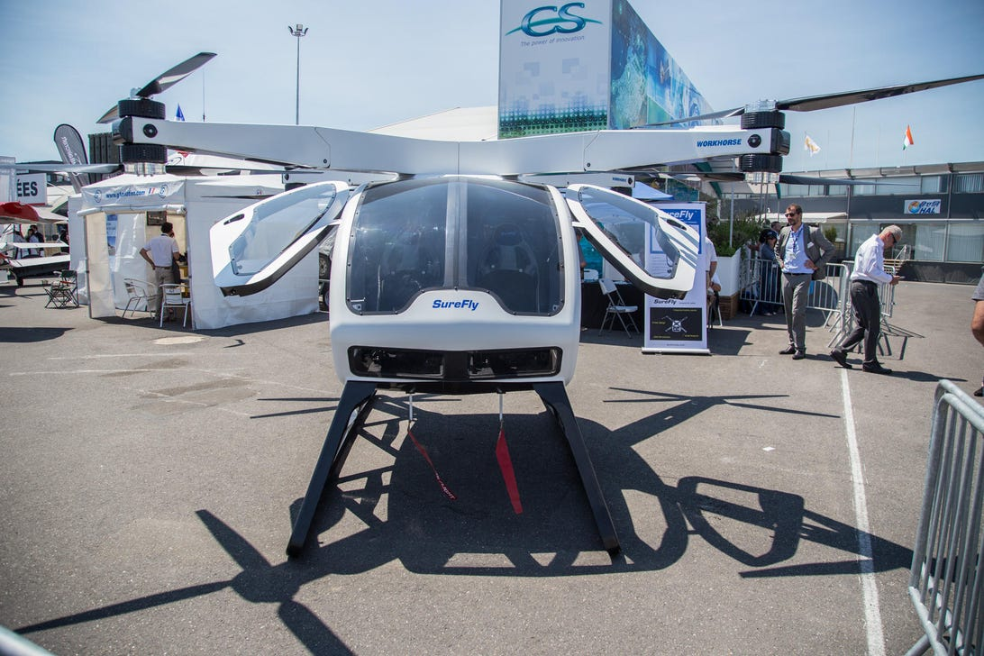 workhorse-surefly-personal-helicopter-paris-airshow