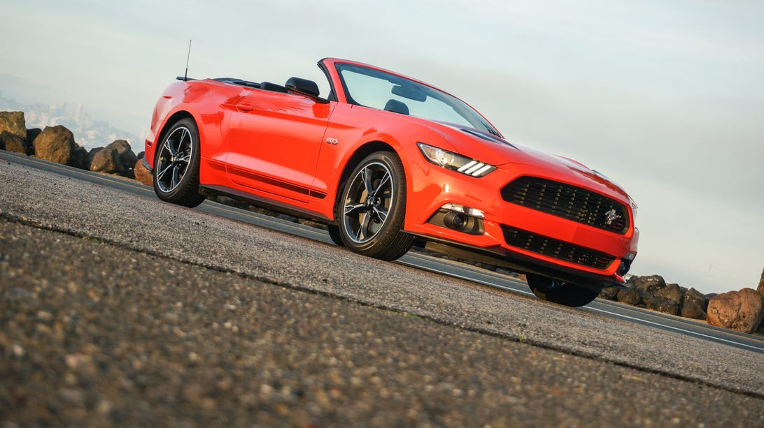 2016 Ford Mustang GT California Special convertible
