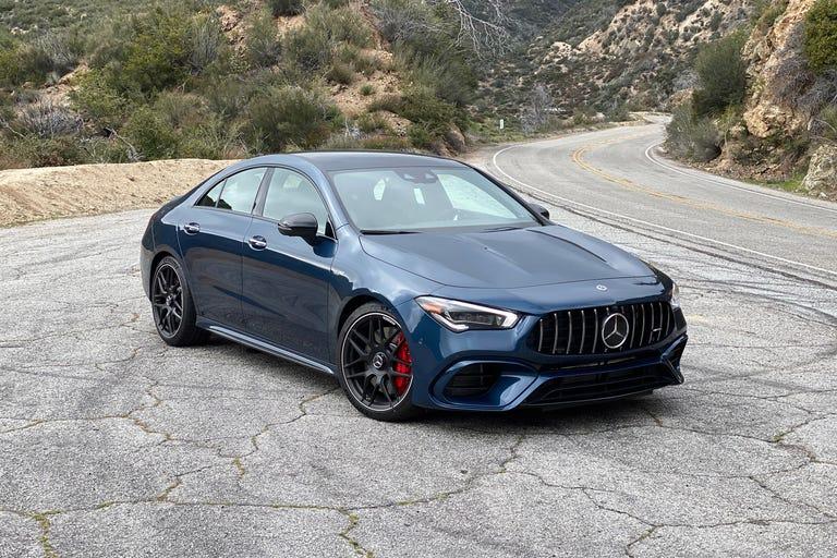 2020 Mercedes-AMG CLA45