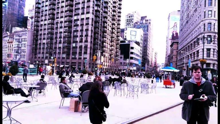 New York through the HTC One's eyes