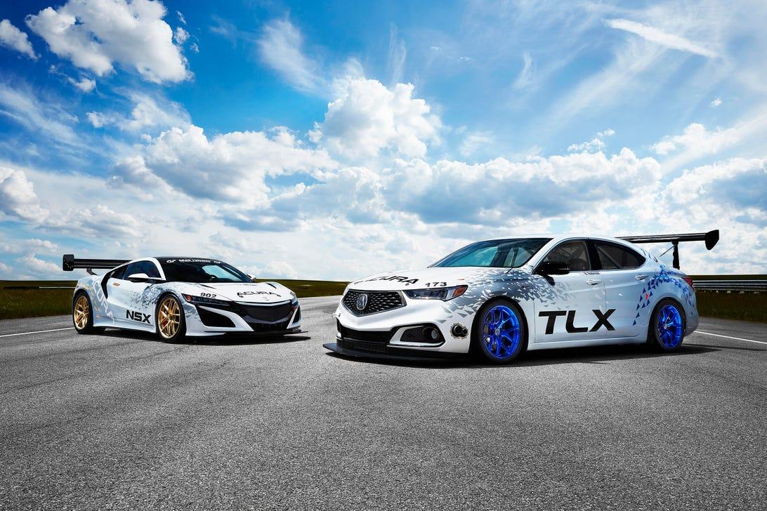 Acura TLX NSX Pikes Peak Racers