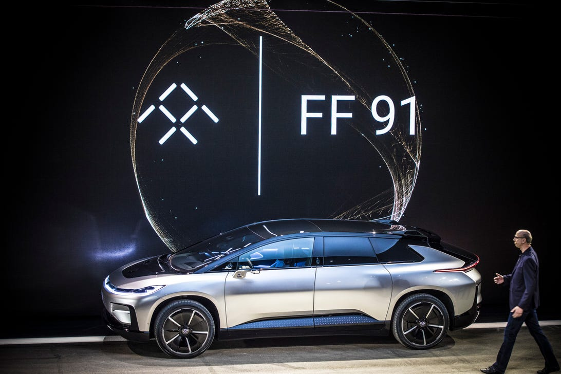 Faraday Future FF 91 at CES