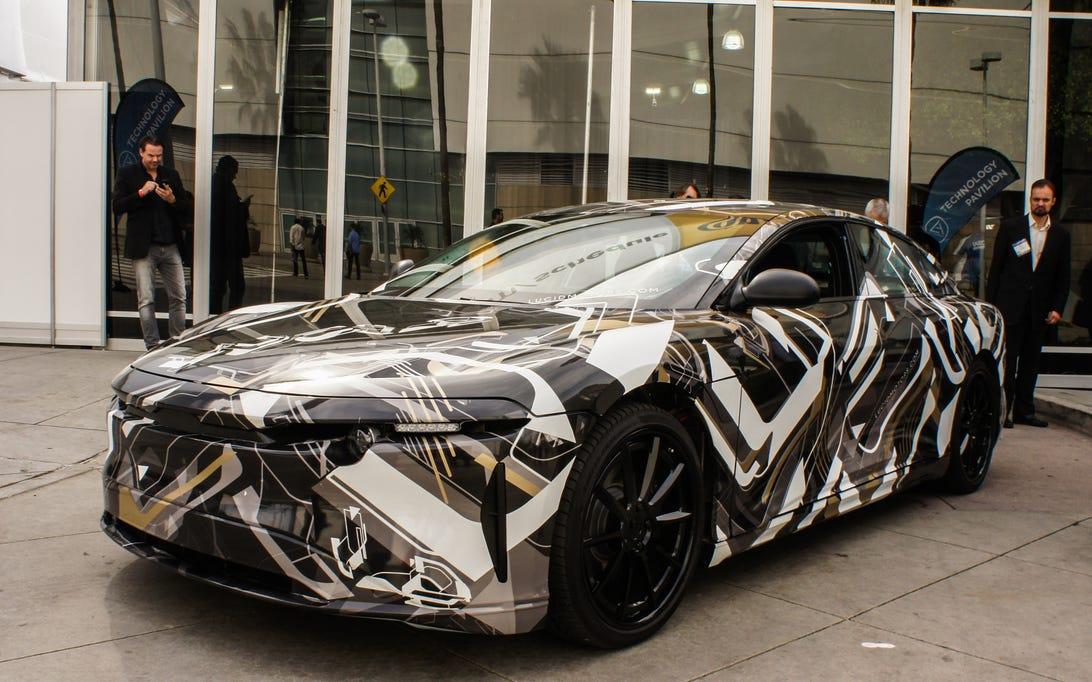 Lucid Motors alpha sedan