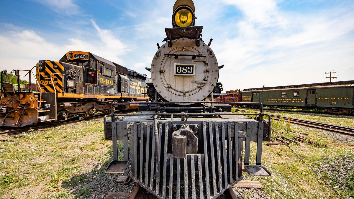 Historic mile-high trains at the Colorado Railroad Museum – CNET
