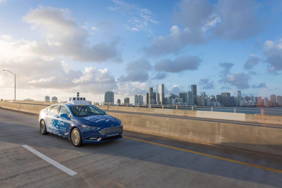 Ford Miami Self-Driving Cars