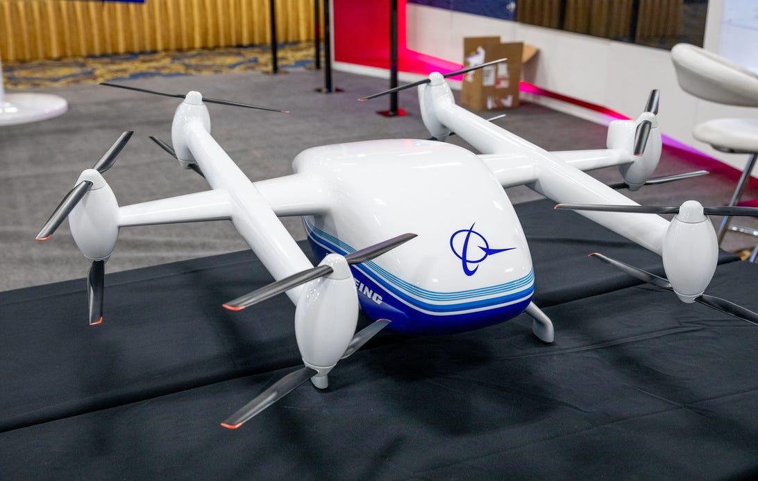 Boeing CAV drone