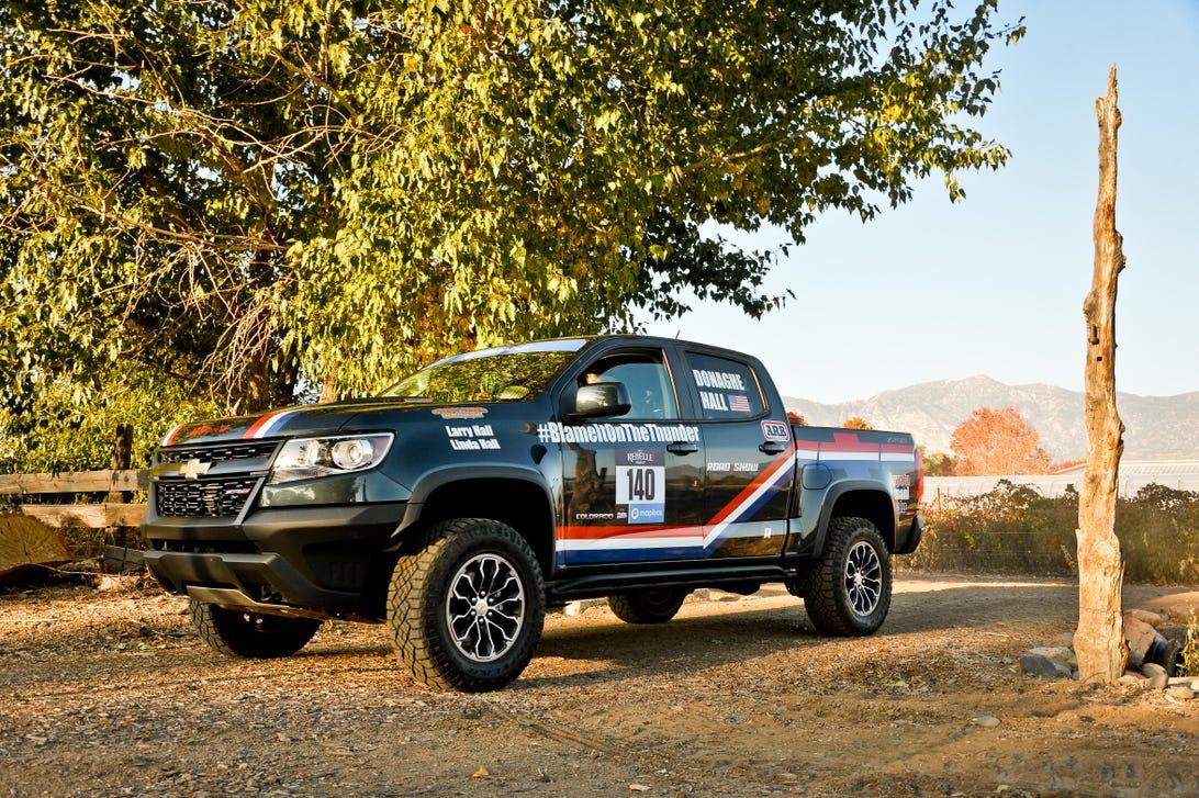 2017 Chevrolet Colorado ZR2 Rebelle Rally