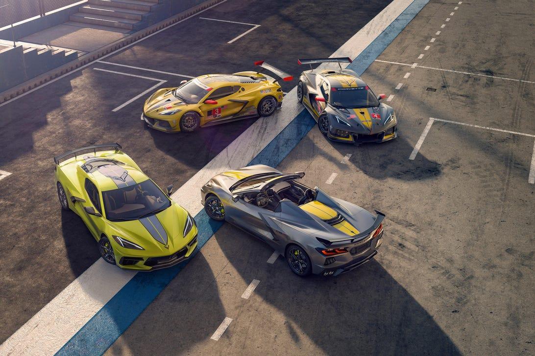 2022 Chevy Corvette IMSA GTLM Championship Edition