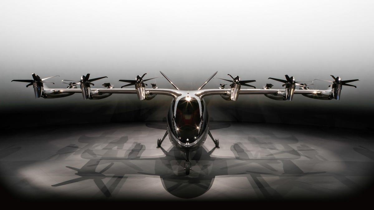 Archer reveals first photos of its Maker eVTOL air taxi - Roadshow