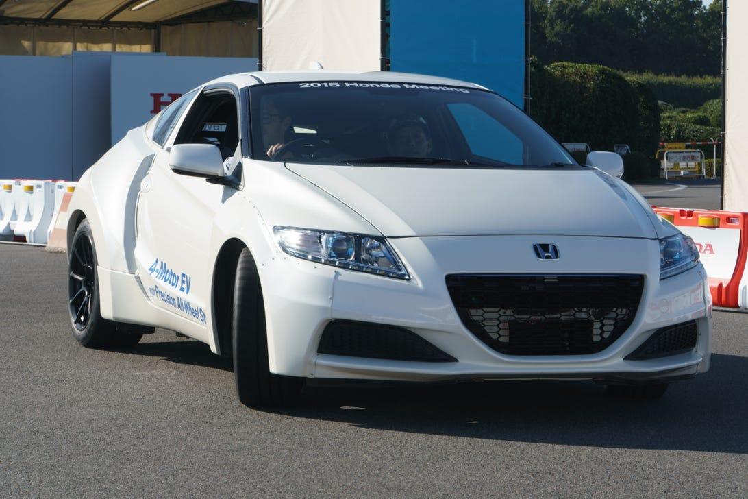 Honda 4-Motor EV with Precision All-Wheel Steer