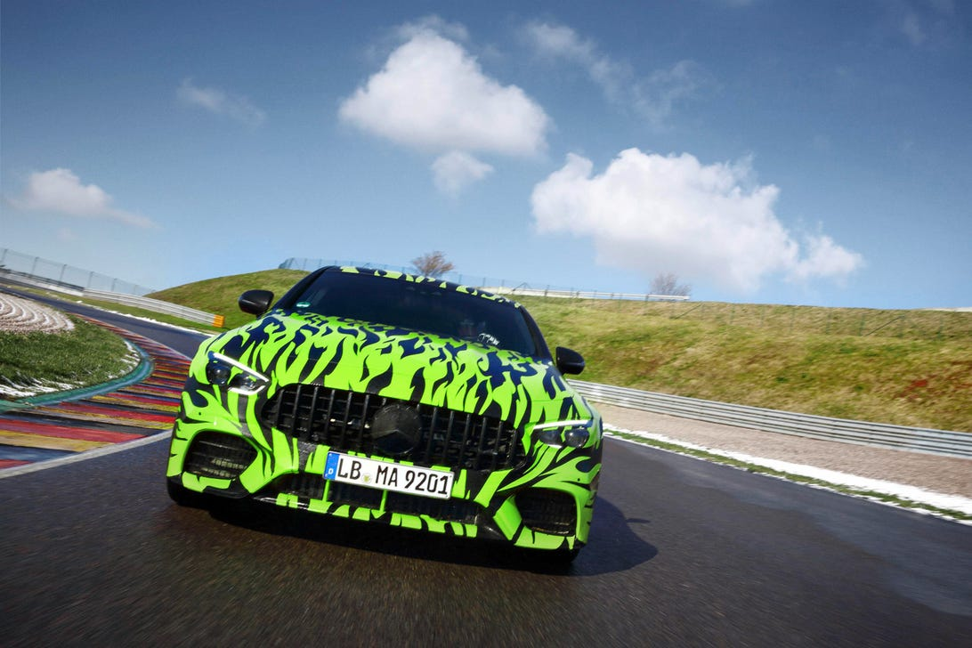 Mercedes-AMG GT sedan teaser