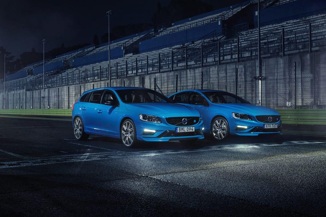 Volvo V60 and S60 Polestar