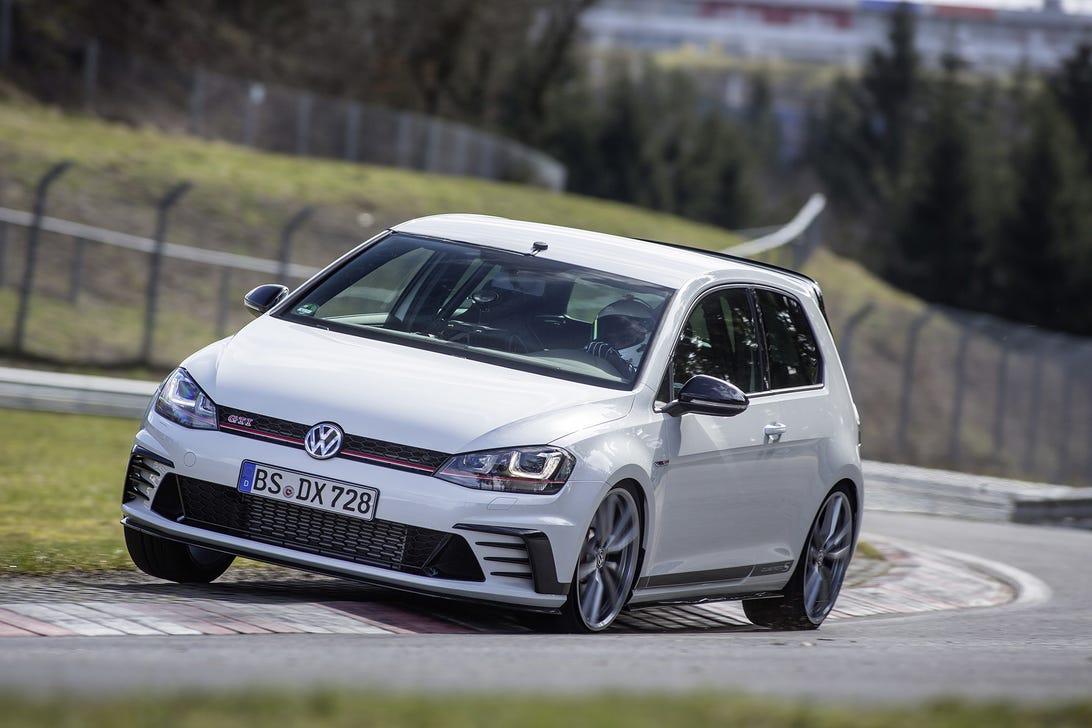 VW Golf GTI Clubsport S Nurburgring
