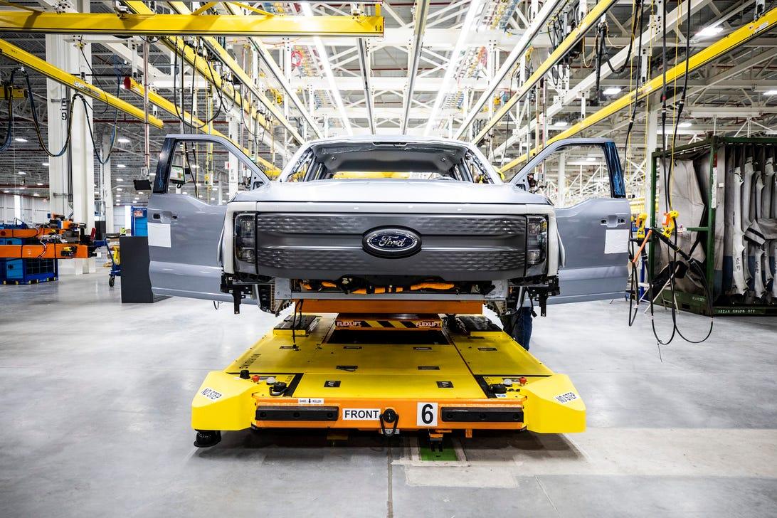 Ford F-150 Lightning Preproduction