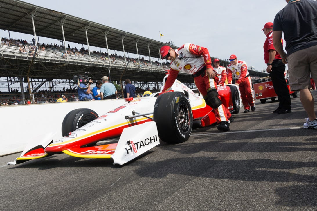 Behind the scenes at the 2015 Indy 500