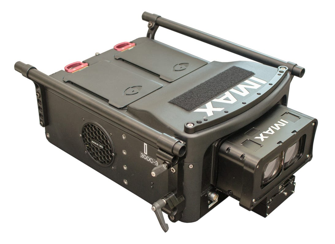 The Imax 3D Digital Camera is a 38-pound custom-built tool for making 4K movies.