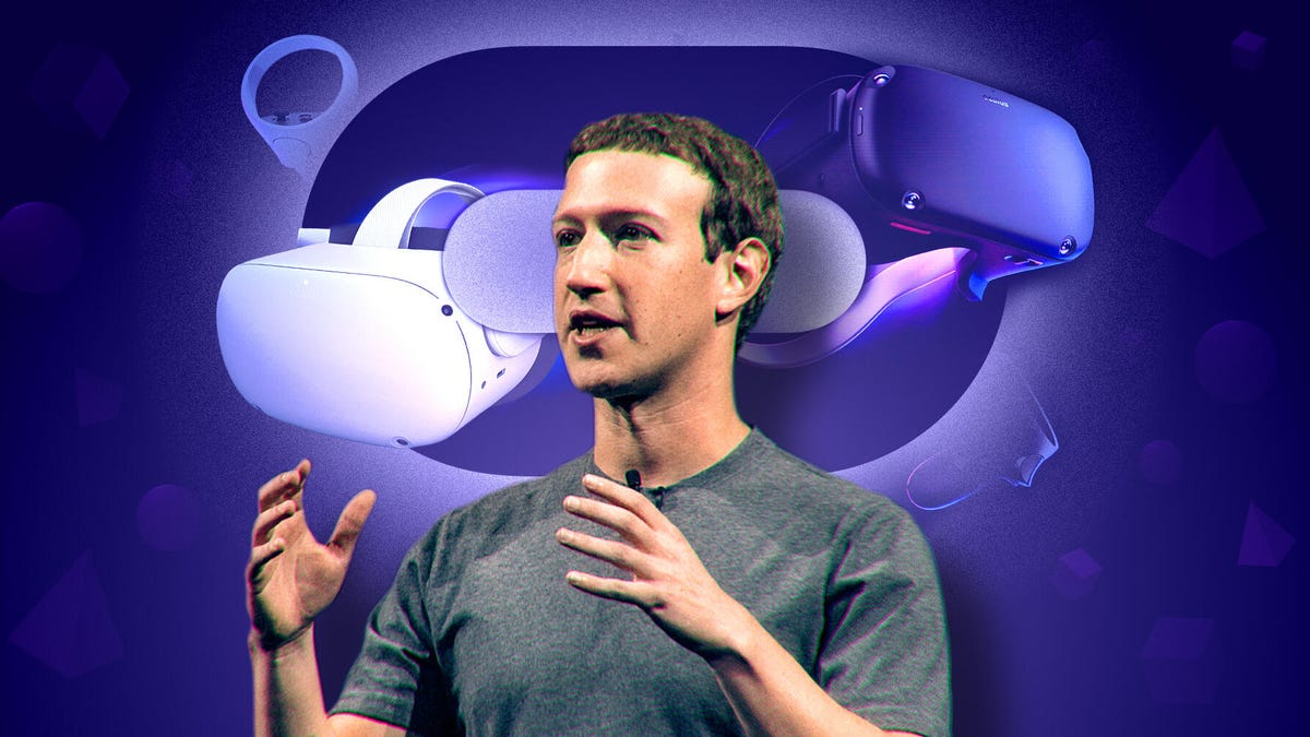 Mark Zuckerberg on Facebook's VR future: New sensors on Quest Pro, fitness and a metaverse for work - CNET