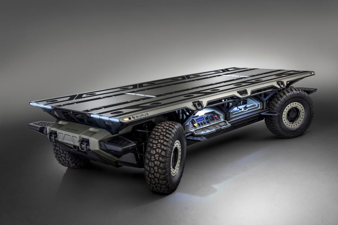 General Motors SURUS truck chassis