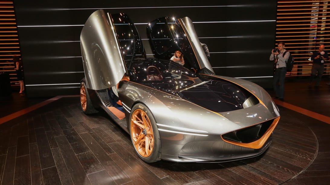 Genesis Essentia Concept at NY Auto Show 2018