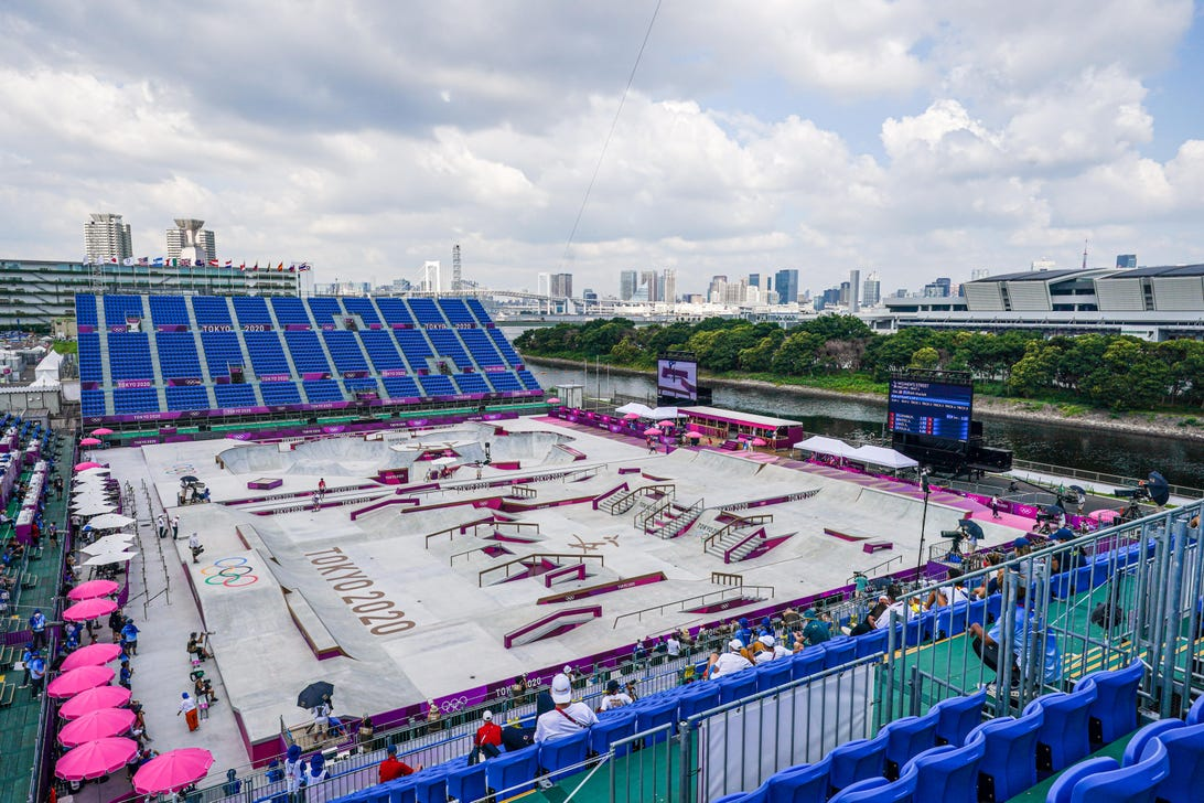 Tokyo 2020 Olympic Games at the Ariake Sports Park Skateboarding