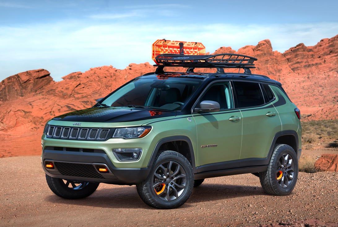 Jeep Compass Trailpass Concept