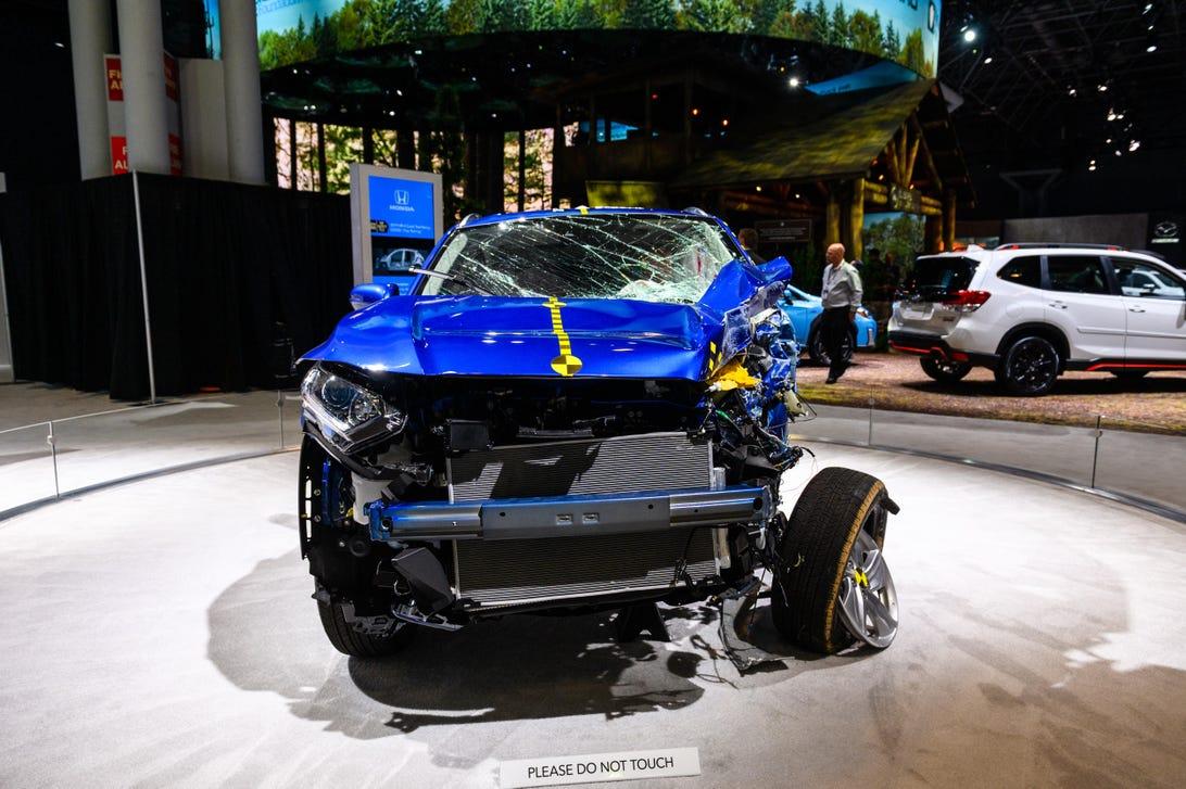 Honda Crashed HR-V